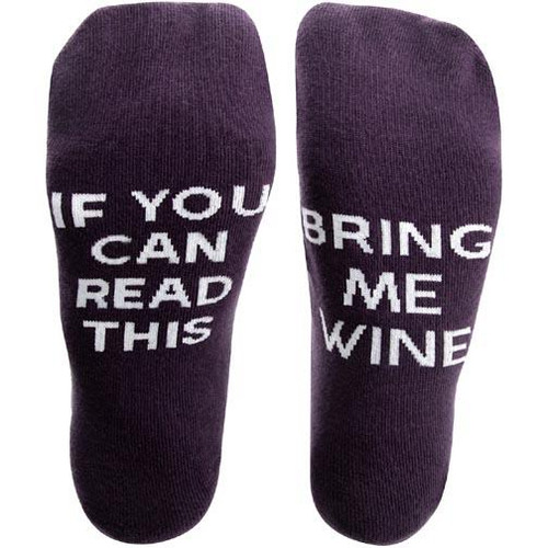 Pavilion Gift Women's Crew Socks - Wine