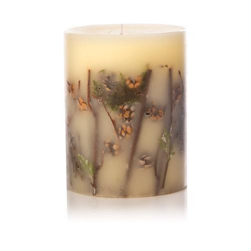 Rosy Rings Botanical Candle 6.5 Inches Tall - Forest