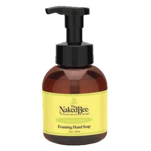 Naked Bee Foaming Hand Soap 12 Oz. - Citron & Honey