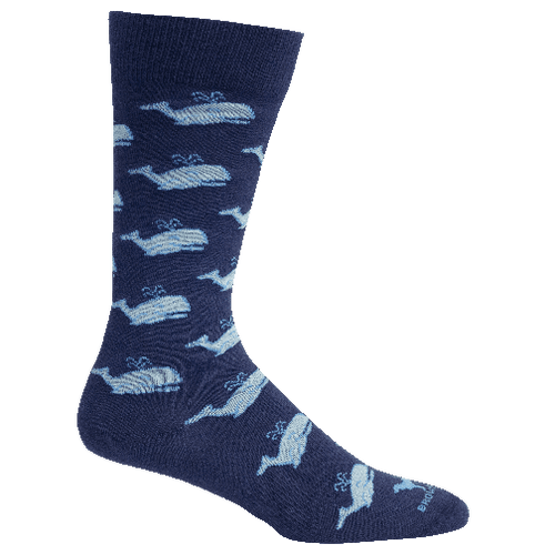 Brown Dog Hosiery Men's Socks - Spout Navy