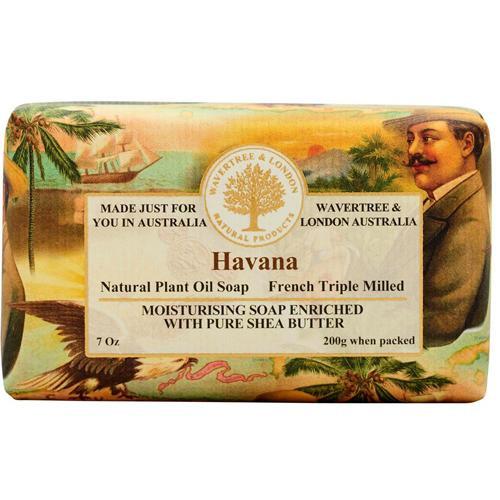 Australian Soapworks Wavertree & London 200g Soap - Havana
