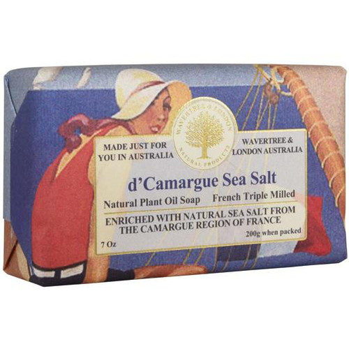 Australian Soapworks Wavertree & London 200g Soap - French Sea Salt