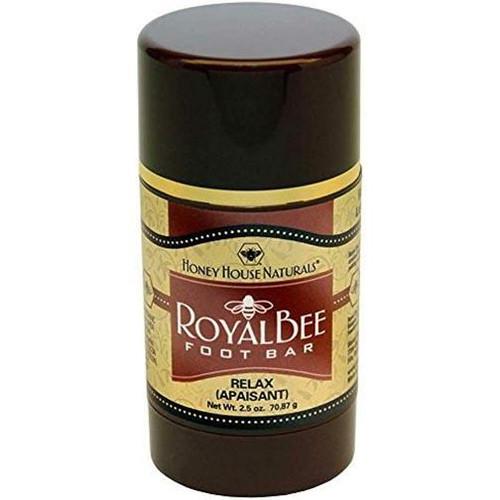 Honey House Royal Bee Bar Foot Bar 2.5 Oz. - Relax (Vanilla/Lavender)