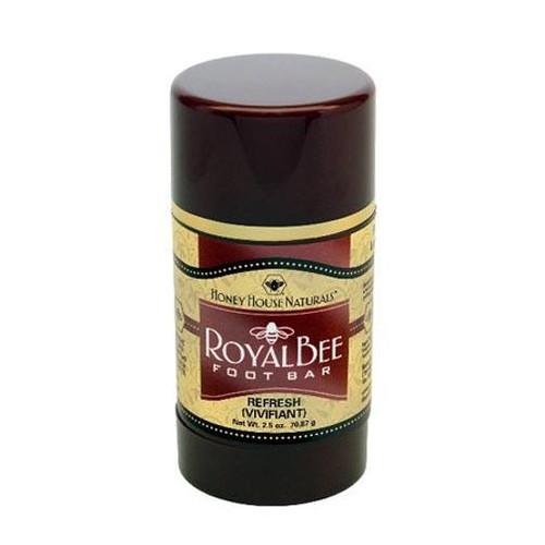 Honey House Royal Bee Bar Foot Bar 2.5 Oz. - Refresh (Peppermint)
