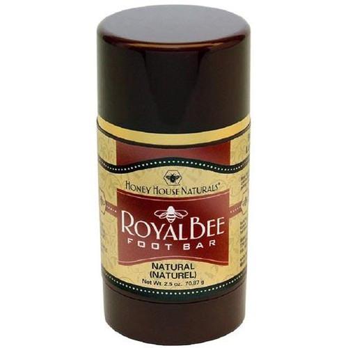Honey House Royal Bee Bar Foot Bar 2.5 Oz. - Natural