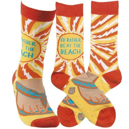 Primitives by Kathy Socks - At The Beach