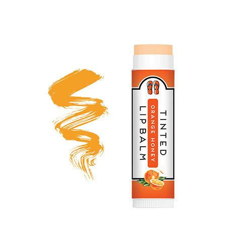 PureFactory Naturals Flip Flop Tinted Lip Balm 0.15 Oz. - Orange Honey