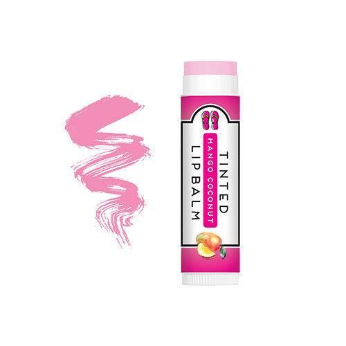 PureFactory Naturals Flip Flop Tinted Lip Balm 0.15 Oz. - Mango Coconut