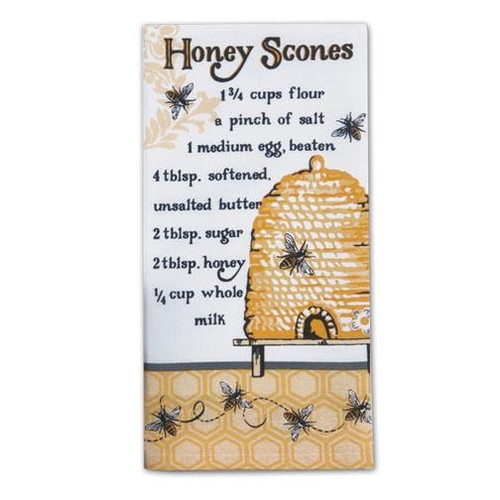 Kay Dee Designs Flour Sack Towel - Honey Scones