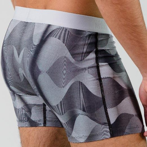 Nth Degree Underwear Boxer Briefs - Frequency (Micromodal)