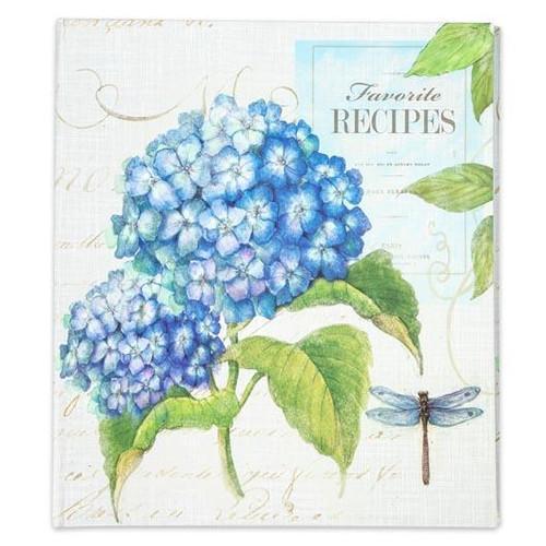 Brownlow Gifts Recipe Binder - Hydrangea