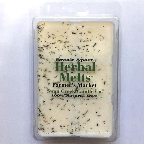 Swan Creek Candle Soy Drizzle Melt 4.75 Oz. - Farmer's Market