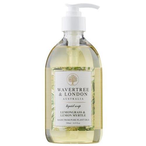 Australian Soapworks Wavertree & London Liquid Soap 16.9 oz. - Lemon Myrtle & Lemongrass