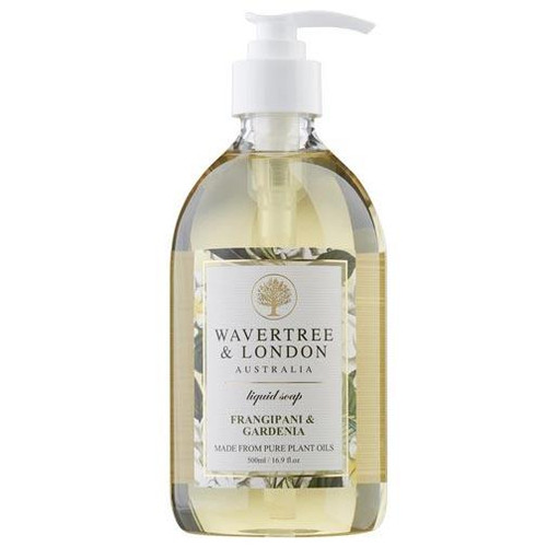 Australian Soapworks Wavertree & London Liquid Soap 16.9 oz. - Frangipani & Gardenia