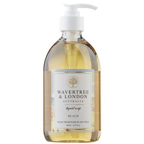 Australian Soapworks Wavertree & London Liquid Soap 16.9 oz. - Beach