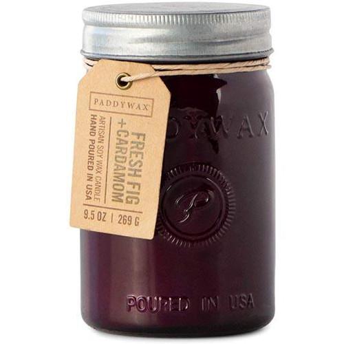 Paddywax Relish Jar 9.5 Oz. - Fresh Fig & Cardamom