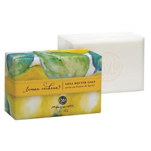 Mangiacotti Shea Butter Bar Soap 5 Oz. - Lemon Verbena