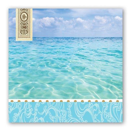 Michel Design Works Paper Luncheon Napkins - Beach