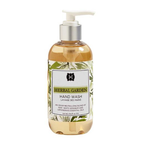 Hillhouse Naturals Hand Wash 8.25 Oz. - Herbal Garden