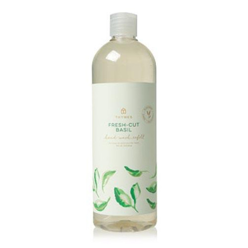 Thymes Hand Wash Refill 24.5 oz. - Fresh Cut Basil