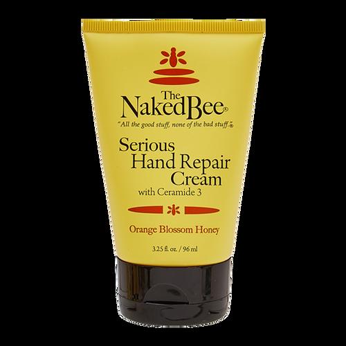 Naked Bee Serious Hand Repair Cream 3.25 Oz. - Orange Blossom Honey