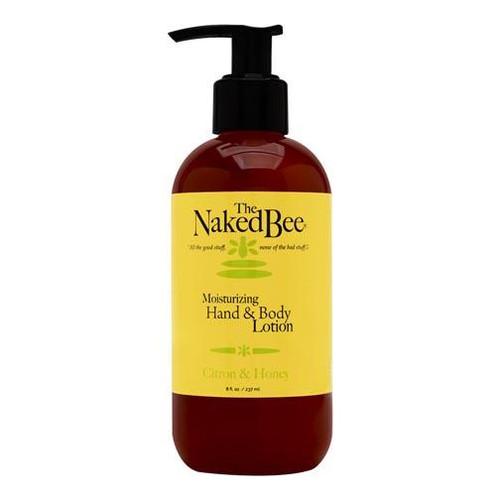 Naked Bee Hand & Body Lotion 8 Oz. - Citron & Honey