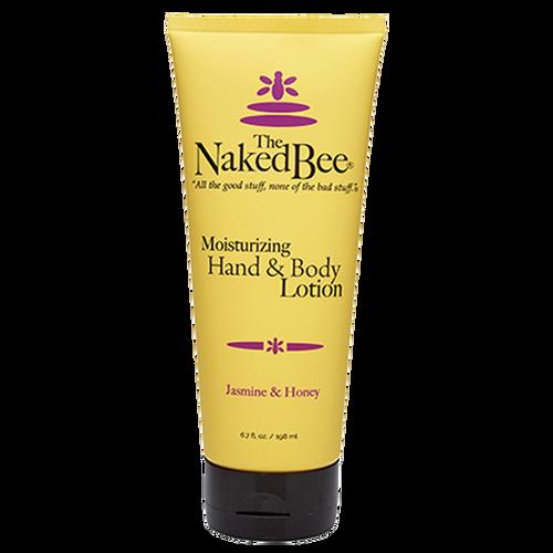 Naked Bee Hand & Body Lotion 6.7 Oz. - Jasmine & Honey