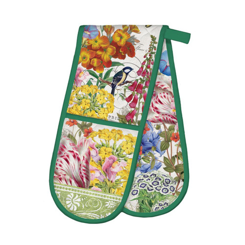 Michel Design Works Double Oven Glove - Summer Days
