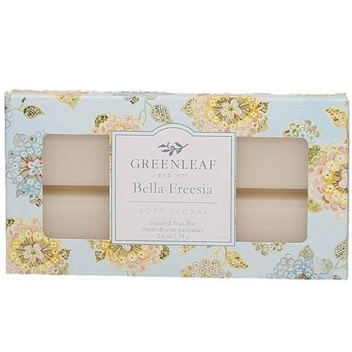 Greenleaf Gifts Scented Wax Bar 2.6 Oz. - Bella Freesia