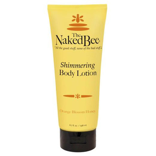 Naked Bee Shimmering Body Lotion 6.7 Oz. - Orange Blossom Honey