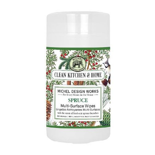 Michel Design Works Multi-Surface Wipes - Spruce