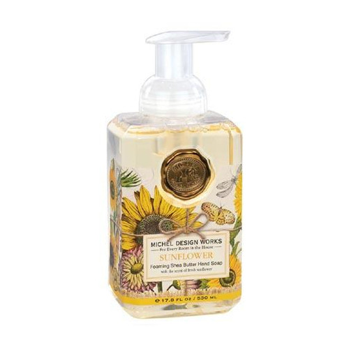 Michel Design Works Foaming Shea Butter Hand Soap 17.8 Oz. - Sunflower