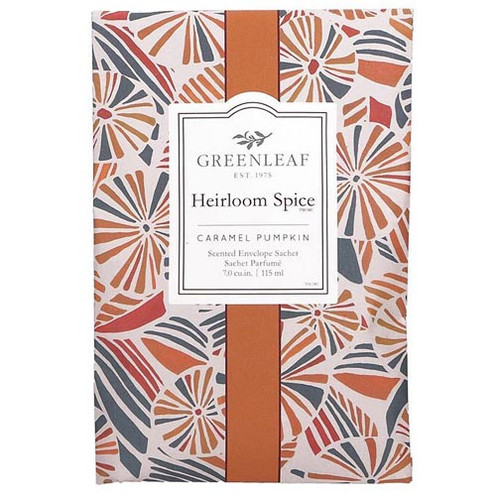 Greenleaf Large Scented Envelope Sachet - Heirloom Spice