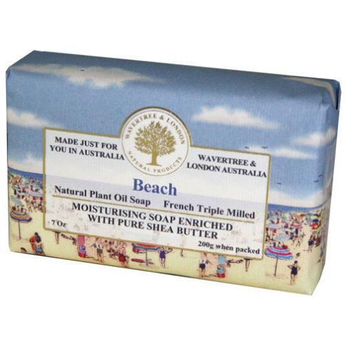 Australian Soapworks Wavertree & London 200g Soap - Beach