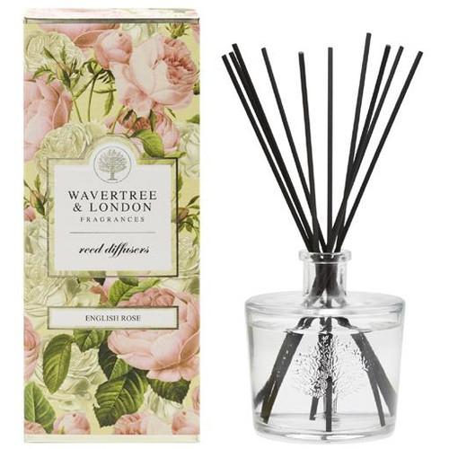 Australian Soapworks Wavertree & London Reed Diffuser 250 ml - English Rose