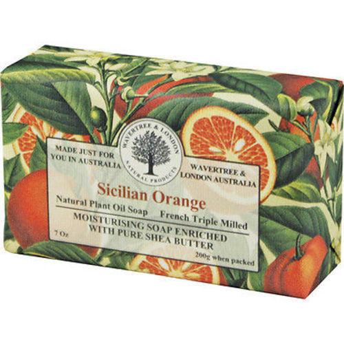 Australian Soapworks Wavertree & London 200g Soap - Sicilian Orange