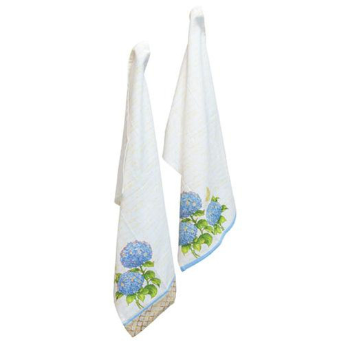 Boston International Tea Towel Set of 2 - Blue Heirloom