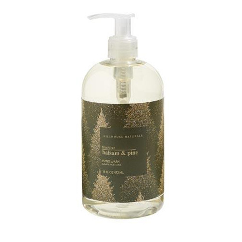 Hillhouse Naturals Hand Wash 16 Oz. - Fresh Cut Balsam & Pine