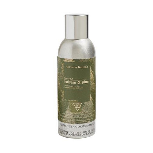 Hillhouse Naturals Fragrance Mist 3 Oz. - Fresh Cut Balsam & Pine