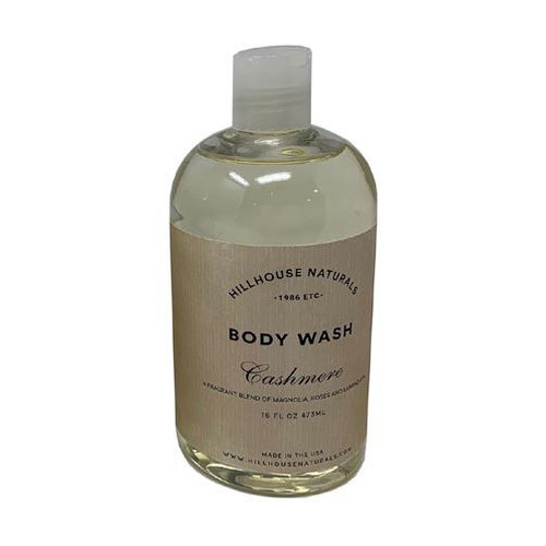 Hillhouse Naturals Body Wash 16 Oz. - Cashmere