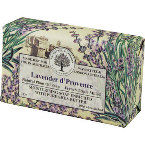 Australian Soapworks Wavertree & London 200g Soap - Lavender d'Provence