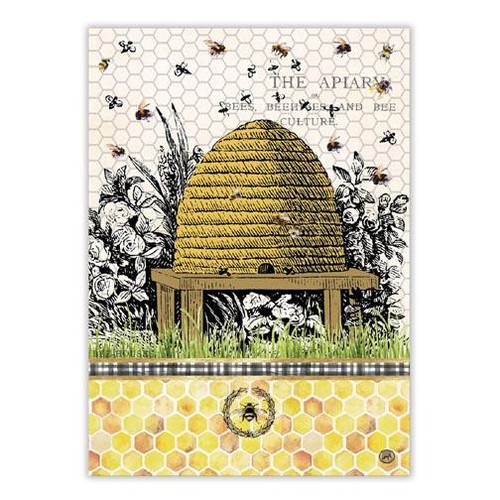 Michel Design Works Kitchen Towel - Honey & Clover