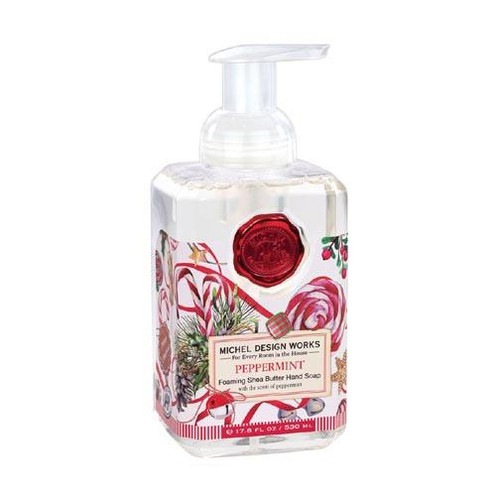 Michel Design Works Foaming Shea Butter Hand Soap 17.8 Oz. - Peppermint