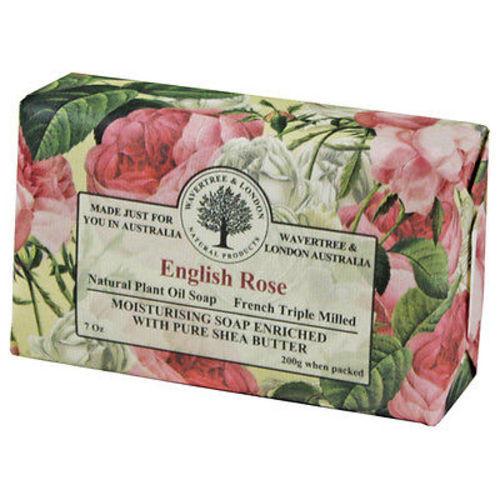 Australian Soapworks Wavertree & London 200g Soap - English Rose