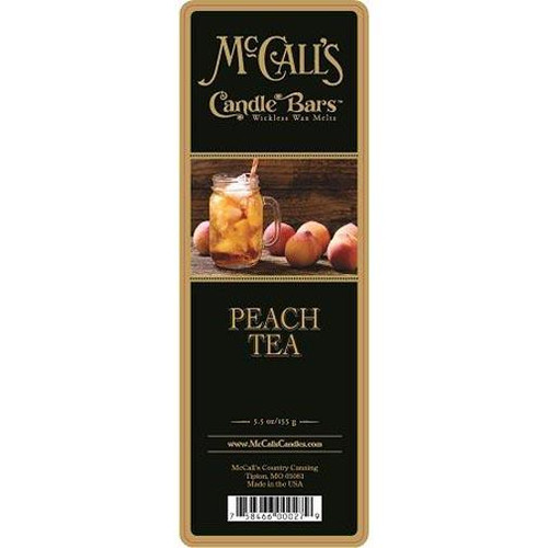 McCall's Candles Candle Bar 5.5 oz. - Peach Tea