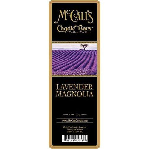 McCall's Candles Candle Bar 5.5 oz. - Lavender Magnolia