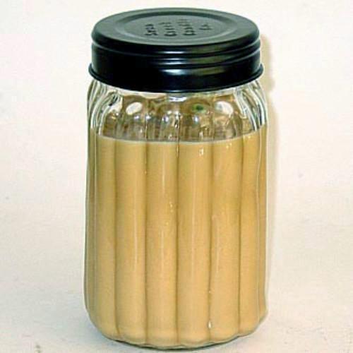 Swan Creek 100% Soy Homespun 24 Oz. Jar Candle - Pumpkin Vanilla