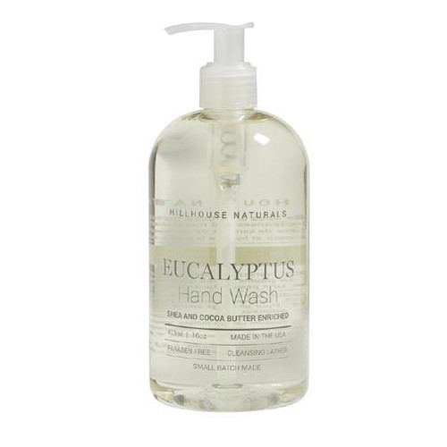 Hillhouse Naturals Hand Wash 16 Oz. - Eucalyptus