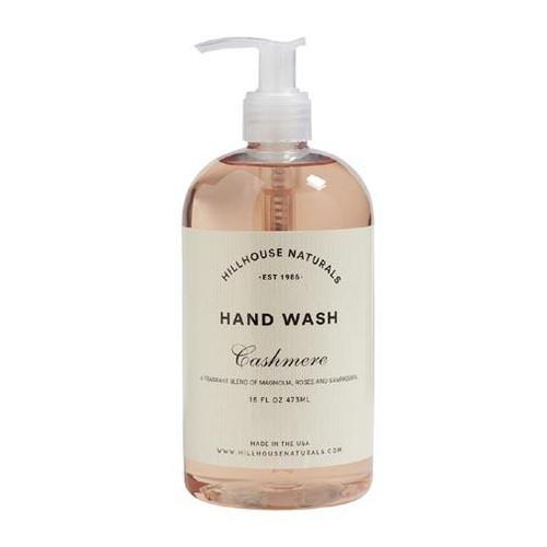 Hillhouse Naturals Hand Wash 16 Oz. - Cashmere