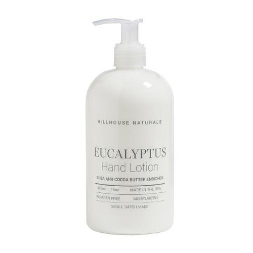 Hillhouse Naturals Hand Lotion 16 Oz. - Eucalyptus